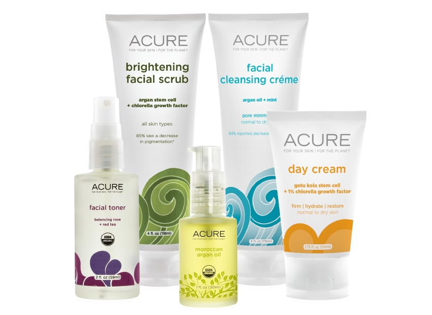 Acure skincare for cancer
