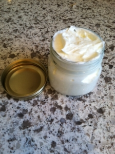 Whipped Jojoba oil for cancer patients